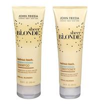 Sheer Blonde Lustrous Touch Strengthening John Frieda - Kit