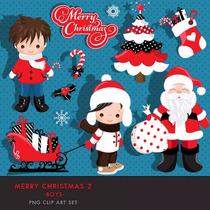 Kit Imprimible Navidad Santa Nene 1 Imagenes Clipart