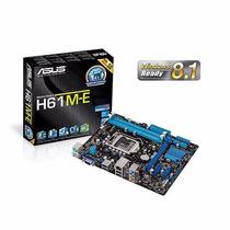 Placa Mãe 1155 Asus H61m-e S/v/r Lga1155 Intel H61m