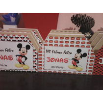 Servilleteros Personalizado Mickey