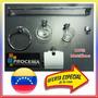 Aja Oferta Juego Accesorios De Baño 100% Metal Cromado 6pzas