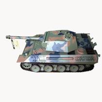 Tanque A Control Remoto German Panther Escala 1/16 Humo