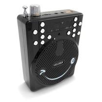 Megáfono Altavoz Portatil Recargable Usb Radio Fm Vkk-2015uv