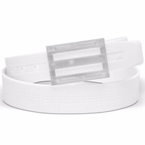Original Cinturon Adidas Golf Silicone Unitalla Belt White