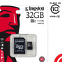 Memoria Micro Sd Kingston 32gb Clase 10 Celular Camara 1080p