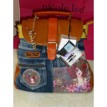 Mochila / Cartera Nicole Lee Usa Original