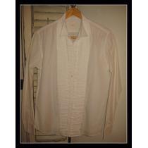 Camisa Blanca Etiqueta Negra