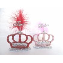 Souvenirs Coronas Para Todo Evento (x10 Unidades)