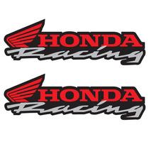Sticker Motos - Calcomania - Vinil - Emblema Honda Racing Cr