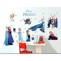 Vinil Decorativo De Frozen P/ Habitación Infantil