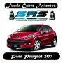 Funda Cubre Asientos De Cuero Ecológico Para Peugeot 207