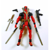 Marvel Deadpool Com Máscara Loose 10 Cm - Brinquetoys