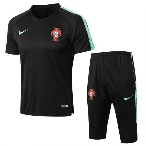 3b8b15f73a Uniforme Treino Seleção De Portugal 2018 (frete Grátis) - R  190