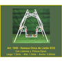 Juegos Jardin Aire Libre Hamaca Chica De Liston Eco Mf1040