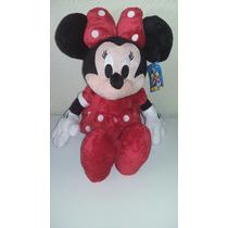 Boneco Minnie Mickey Disney Pelúcia Importada 50 Cm