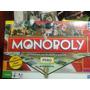 Incompleto Tablero Monopolio Juego,fichas,tarjetas Sellado