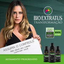 Kit Transformação Progressiva Bio Extratus Sem Formol Disci