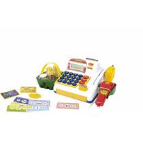Caixa Registradora Infantil Com Scanner E Acessórios