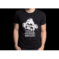 Camiseta Bring Me The Horizon Caveira Camisa Rock