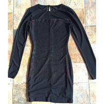 Vestido Negro Corto Forever 21. Talla S