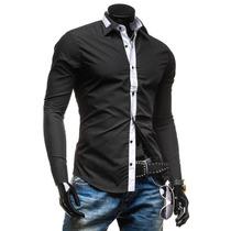 Camisa Social Slim Fit Masculina Importada Pronta Entrega