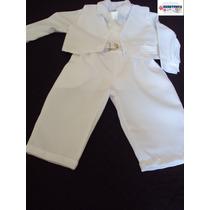 Terno Conjunto Social P/ Bebê C/calça Batizado Casamento
