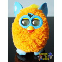 Boneco Furby Hot Orange Blue Laranja Hasbro