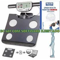 Balança De Bioimpedância Tanita Bc 601 C/ Software Ilimitado