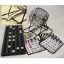 Bingo Tombola Metalica + 218 Cartones ,para Jugar En Familia