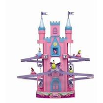 Castillo Mágico Princesas, Con Luz, Sonido, Tobogán Y Ascens