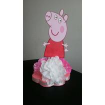 Centro De Mesa,chupetero,cotillon,fiesta Infantil Peppa Pig