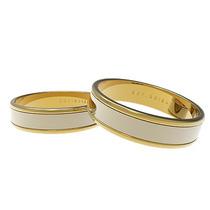 Alianzas 2 Oro, Par De Alianzas 18k Oro Blanco Y Amarillo