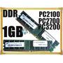 Memoria Ddr 1 Gb 266/333/400 Mhz Pc 3200 Gtía Factura A O B
