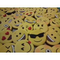 Chaveiro Emoji Em Biscuit