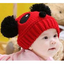 Touca Panda Para Bebês E Crianças Quentinhas Para O Inverno