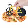 Cortador De Pizza Bicicleta Novedad Regalos Adornos Navidad