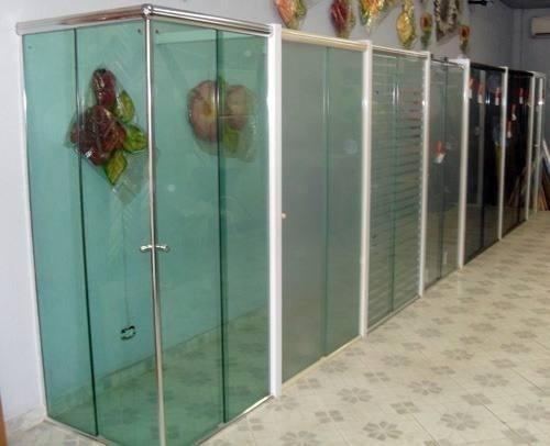 Box Para Banheiro, Vidro 8mm  R$ 10,00 em Mercado Livre -> Box Para Banheiro Pequeno Mercado Livre