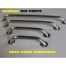 Kit Barra Apoio Reta 2 De 60cm ,01 40cm E 01 Pia De Canto