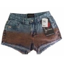 Short Jeans Feminino Roupas Femininas By Unna Tamanho 36