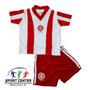 Conjunto Para Bebe Inter Camisa+ Shorts- Torcida Baby- Nf