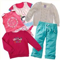 Niñas Talla 4 Y 5 Pantalones Blusas Sweters Faldas Vestidos