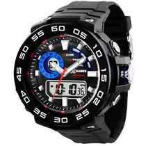 Relógio Masculino Anadigital Esportivo X-games Xmppa168 Bxpx