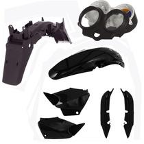 Kit Plastico Carenagem P/ Titan 125 Ano 2000 2001 E 2004