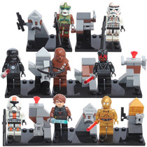 Star Wars Darth Vader Luke Darth Chewba Compatible Con Lego