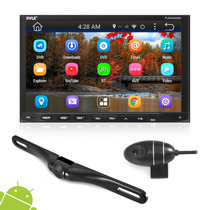 Pyle Doble Din Android 2 Camara Dvr Wi Fi Bt Full Hd 7
