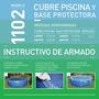 Cubre Pileta Y Base Protectora Pelopincho 1102 Piscina