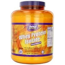 Now Foods 100% De Proteína De Suero Puro Aislar 15 Libras. (