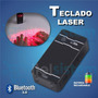 Teclado Laser Bluetooth Smarphone Tablet Itelsistem