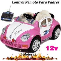 Auto A Bateria Control Remoto 2 Motores 12v Mp3 + Potencia!!