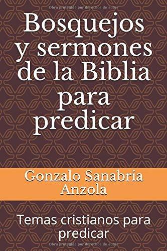 Temas cristianos para predicar | LISTA DE PREDICACIONES DE LOS
